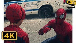 Человек-Паук против Носорога. Финальная Сцена   Новый Человек-паук: Высокое напряжение (2014)   HD