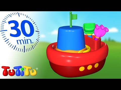 TuTiTu Deutsch | Spielzeug für Kleinkinder | Strandspielzeug | Zusammenstellung