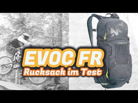 EVOC Rucksack Ednuro Blackline Fahrradrucksack im Test | Qualität, Volumen...?