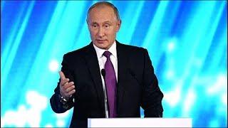 Смотреть онлайн Впечатляющая речь В.В.Путина на заседании Валдай