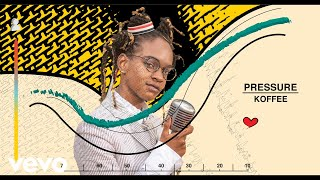 Koffee - Pressure Listen/Download: http://smarturl.it/KoffeePressure?IQid=yt   More from Koffee: 'Lockdown': http://smarturl.it/koffeelockdown?IQid=yt 'W' feat. Gunna: http://smarturl.it/KoffeeW?IQid=yt  'Rapture' EP: http://smarturl.it/KoffeeRapture?IQid=yt Official videos: https://www.youtube.com/playlist?list=PLCVUuQDxFCSc07JHU7BQ2TK2Pgdl4OhtH  ----------  Follow Koffee:  Official Site: http://originalkoffee.com Facebook: https://www.facebook.com/originalkoffee Twitter: https://twitter.com/originalkoffee Instagram: https://www.instagram.com/originalkoffee/  ----------  Lyrics:  [chorus] Under the pressure, under the pressure Under the pressure, under the pressure If yuh poor, trouble tek you When yuh rich it nuh settle Cause we all under pressure my friend Sometimes when yuh feel it yuh cry doh Hurt yuh heart enuh But do, no mek it stress yuh  Cause it haffi be better Nuh haffi live ina the ghetto Fi be under the pressure my friend  v1 Lord have mercy This cya get no worse Haffi call it a curse  How me heart it a hurt me Call it cerosee  Because from me birth  A the first me a feel like the Father desert me But, mmm, all when the pressure erupt  Me never give up No, no, no me never give in Me a send up a prayer fi the better living I cya bawl so a better me sing  [chorus] Under the pressure, under the pressure Under the pressure, under the pressure If yuh poor, trouble tek you When yuh rich it nuh settle Cause we all under pressure my friend Sometimes when yuh feel it yuh cry doh Hurt yuh heart enuh But do, no mek it stress yuh  Cause it haffi be better Nuh haffi live ina the ghetto Fi be under the pressure my friend  v2 It serious Lawd, times rough and it serious Life is a little mysterious Have we pot and we can't even stir it up Oh no! Cya wait fi morning come Oh gosh the night too long Oh gosh the fight too long I cya wait fi see the sun  [chorus] Under the pressure, under the pressure Under the pressure, under the pressure If yuh poor, trouble tek you When y