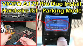 Hardwire Kit For Parking Mode - VIOFO A129 Pro Duo Dashcam