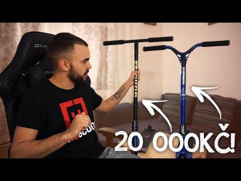 MOJE KOLOBĚŽKY ZA 20 000KČ! | Scooter Check #1