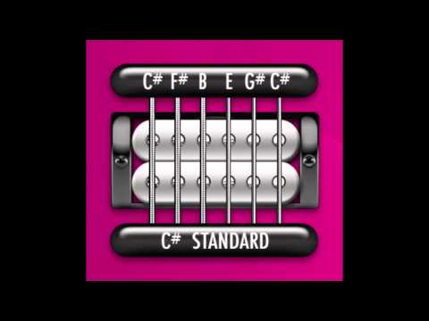 Perfect Guitar Tuner (C# / Db Standard = C# F# B E G# C#)