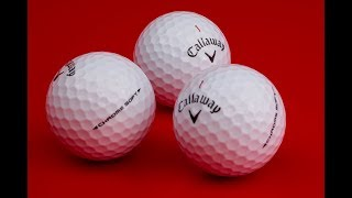 Callaway Chrome Soft Golf Balls-video
