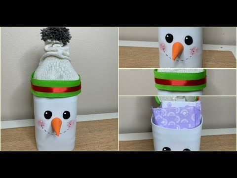 Videos Youtube Manualidades Navidenas.Manualidades Navidenas Con Botellas Plasticas Ideas Para