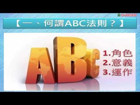 ABC法則借力/第一課,什麼叫ABC法則 – 美極客創業商機