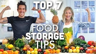 How To Keep Your Fruits & Veggies Fresh: Our Top 7 Food Storage Tips