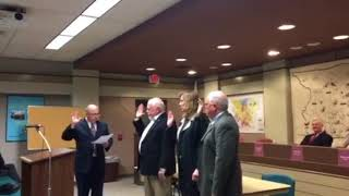 O'Brien sworn in as MT Commissioner (video)