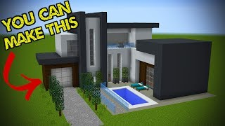 5 Easy Steps To Make A Minecraft Modern House Minecraftvideos Tv