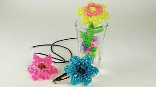 Супер Цветок 3 в 1 |Плетение из резинок | Как сделать заколку своими руками