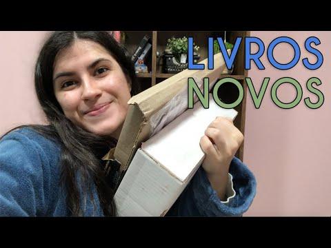 ABRINDO LIVROS NOVOS