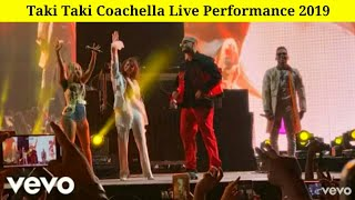 Taki Taki Coachella   2019 - Dj Snake Ft Selena Gomez, Ozuna, Cardi B     Performance