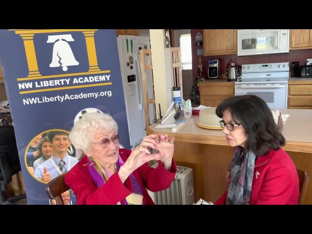 video: Interview with Margarete Fallat - WWII Survivor