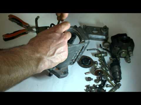Фото к видео: разбираем ТНВД - состав и функциональные назначения частей