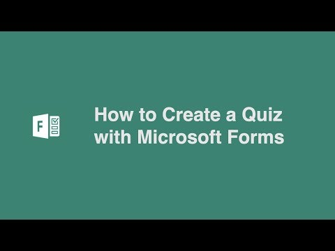 How to Create a Quiz with Microsoft Forms
