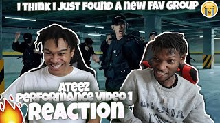 ATEEZ(KQ Fellaz) Performance Video Ⅰ   REACTION | BRUH...