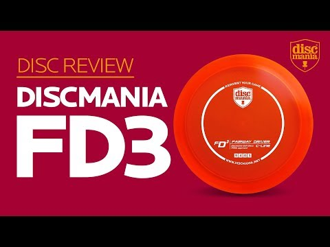 Discmania FD3 (Fairway Driver) Golf Disc Review
