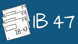 IB 47 (inkomen uit overige werkzaamheden)