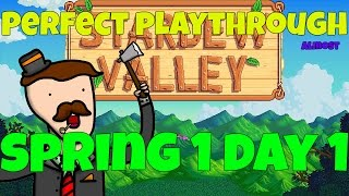 Break the Game (Spring 1 Day 1) - Stardew Valley