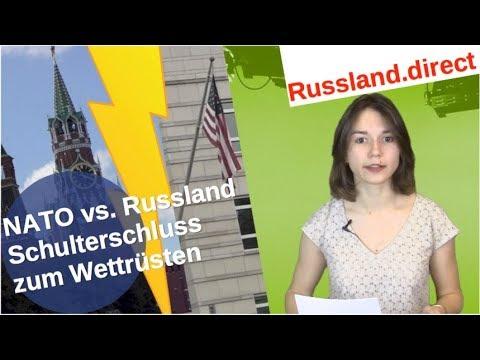 NATO vs. Russland: Schulterschluss zum Wettrüsten [Video]