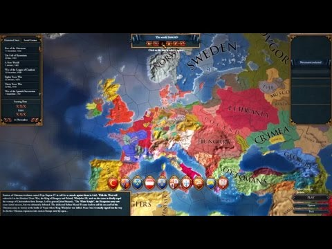 Europa Universalis IV Steam Key GLOBAL - video trailer