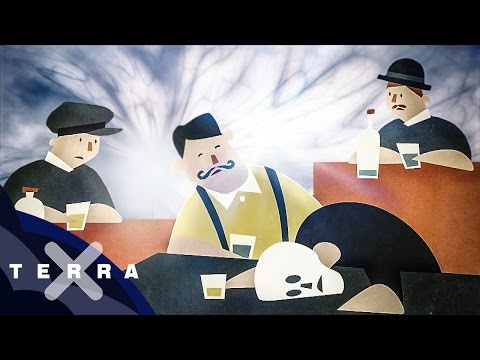 Das Ritual auf die Abnahme des Alkoholismus