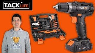 TACKLIFE Tools 20V Cordless Drill & Home Tool Set Review // PHK06B
