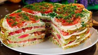 Кабачковый торт - легкий в исполнении полезный торт порадует всех любителей овощей!   Appetitno.TV