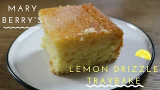 how to make lemon drizzle icing with granulated sugar