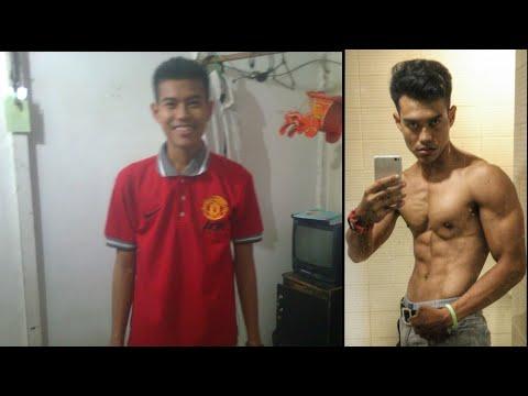 Penurunan berat badan dari bungkus sentuhan