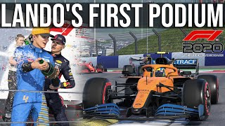 Trying To Replicate Lando Norris' First EVER Podium In F1 2020