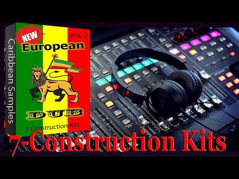 7 Construction Kits European dub Reggae Vol-2