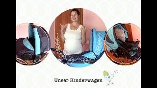 Unser Kinderwagen // Skyline AmberLine Classica Retro-Blue // AnnikasLeben