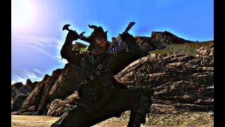 Как установить одноручное оружие на спине? - Skyrim mod