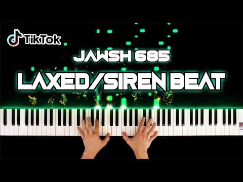 Jawsh 685 / Jason Derulo - Laxed (SIREN BEAT) - Piano Cover