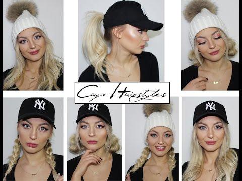 Baseball/ Cap Hairstyles // Mützenfrisuren
