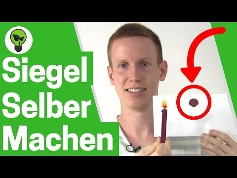 Siegel selber machen ✅ GENIALE ANLEITUNG für Siegelwachs, Briefsiegel, Wachssiegel & Siegelstempel!!