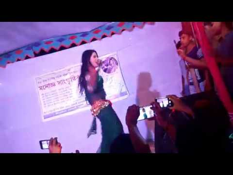 New Bangla Stage Dance 2019 Onge Legechhe Aagun 720pHD Video