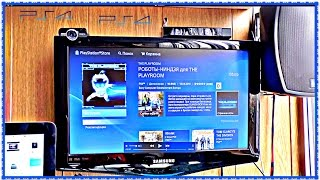 Камера для #PS4 Распаковка Обзор PlayStation Camera  THE PLAYROOM РОБОТЫ ИГРА #Технологии
