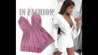 BEAUTIFUL SUPER FASHION OUTFITS WITH ROMPER LAST TRENDS ♥ OUTFITS SÚPER FASHION CON MAMELUCO♥