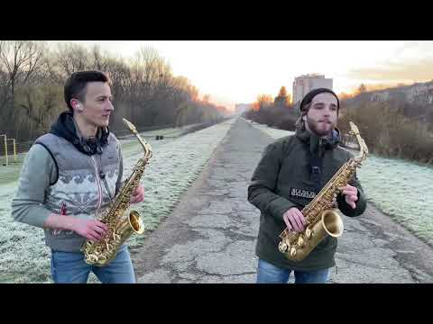 KAZKA x ALEKSEEV - Поруч ( Sax cover )
