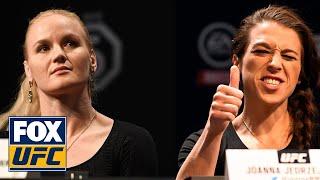 Valentina Shevchenko unfazed by Joanna Jedrzejczyk trash-talk before UFC 231 | UFC on FOX