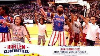 Campagne d'affichage Adam Concerts - Harlem Globetrotters.