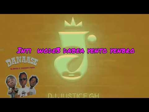 0 DJ Justice employs Stonebwoy, Fameye in new single; Danaase