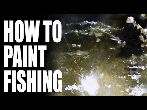 How to paint fishing
