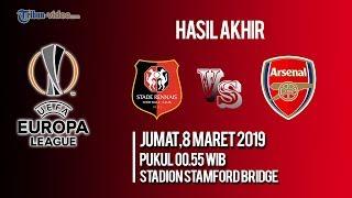 Hasil Akhri Rennes Vs Arsenal, The Gunners Hancur Lebur Hadapi Wakil Prancis di Liga Eropa
