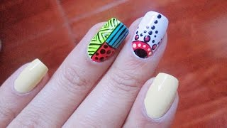 Video Decoracion De Uñas Mandalas Mandalas Nail Art Mandalas
