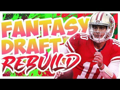 Drafting Jimmy Garoppolo - Madden 20 Connected Franchise Fantasy Draft Rebuild
