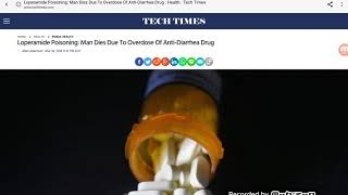 Man Overdose On Imodium AD In Pittsburgh